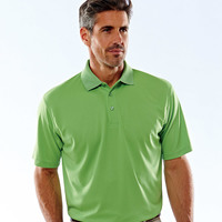 Mens Basic Dry Weave Polo