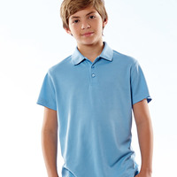 Youth Basic Dry Weave Polo