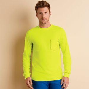 Adult Ultra CottonTM Long-Sleeve T-Shirt with Pocket Thumbnail