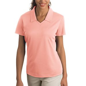 NIKE Ladies Dri FIT Micro Pique Polo Thumbnail