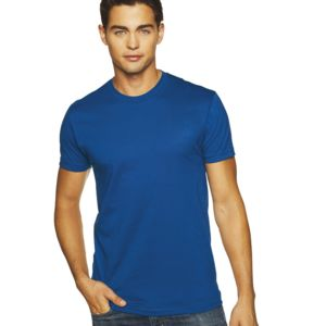 Men's Premium Fitted Short-Sleeve Cotton Crew Thumbnail