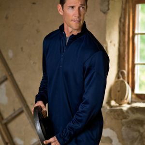 UltraClub® Adult Cool & Dry Sport 1/4-Zip Fleece Thumbnail