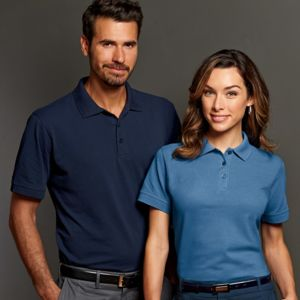 Men's Basic Cotton Polo Thumbnail