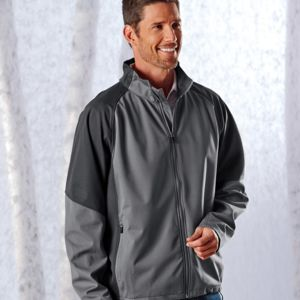 UltraClub Adult 2-Tone Soft Shell Jacket Thumbnail